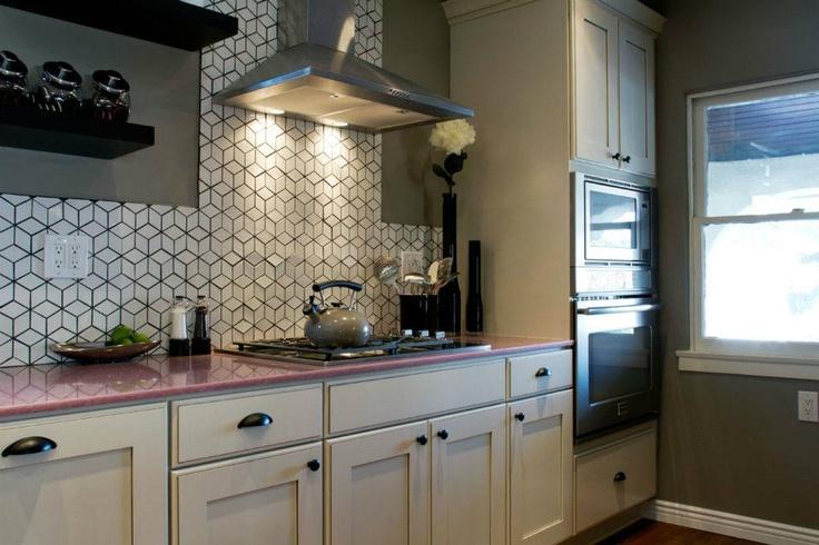 Pink Quartz Countertops Amp I Love The Backsplash From
