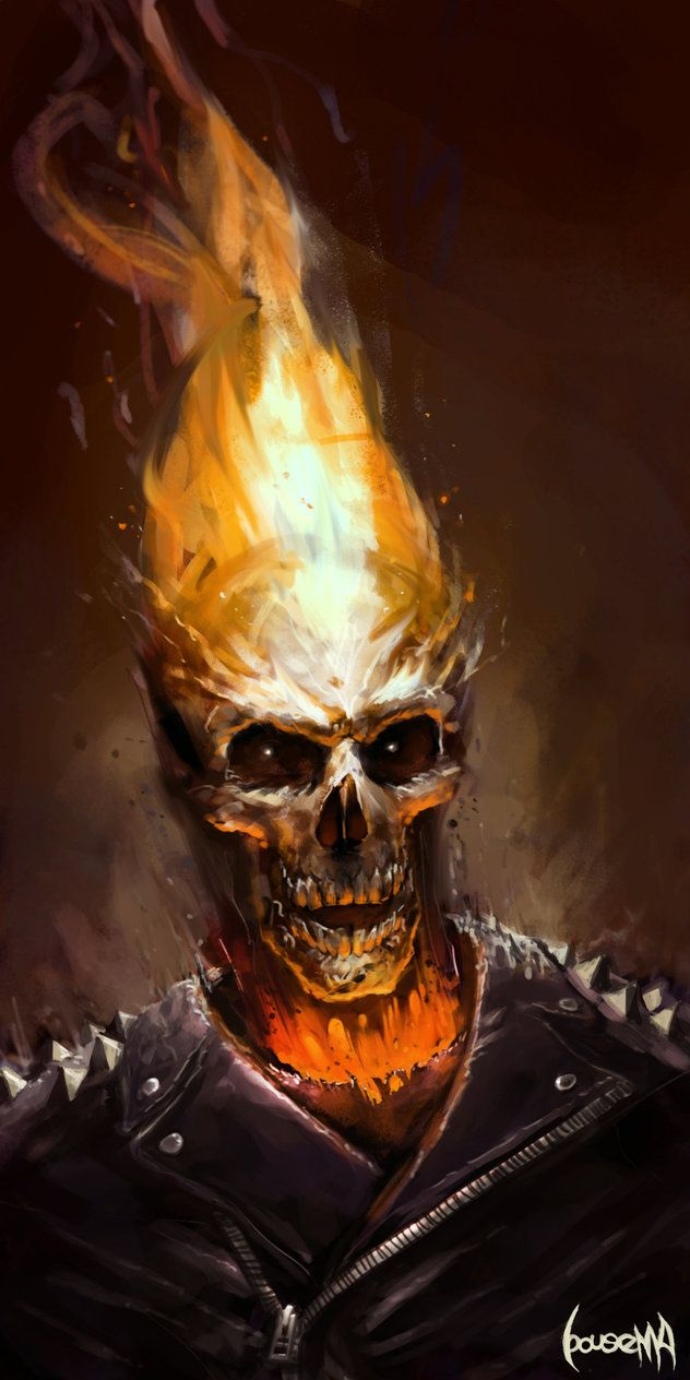 Ghost Rider by JamesBousema on DeviantArt