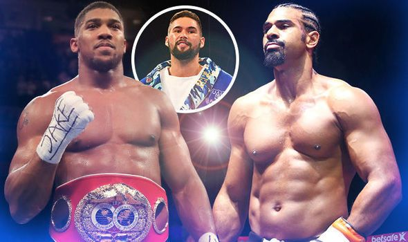 David Haye wants Anthony Joshua fight in 2018: Brit writes off Tony Bellew rematch
