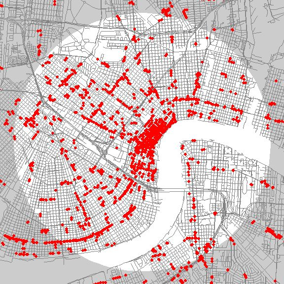 25 best maps images on pinterest cards maps and geography what your city looks like when nearly every store is mapped gumiabroncs Image collections