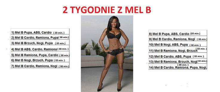 Mel B plan treningowy dla początkujących ;)