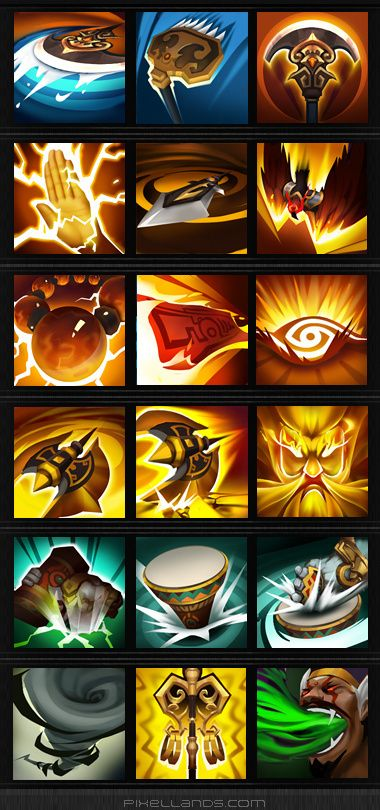 7.GAME [icon] China Wind Journey skills role ...
