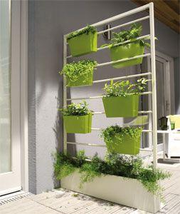 Cloison v g tale castorama nogent pinterest d co et articles - Decoratie jardin terras ...