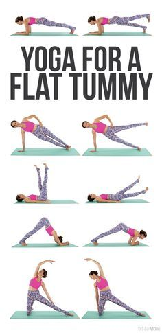 Get a flatter stomach with this yoga workout!