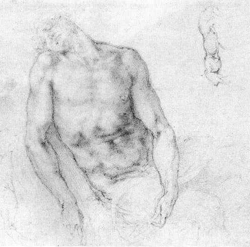 "Study to ""Pieta"" - Michelangelo"