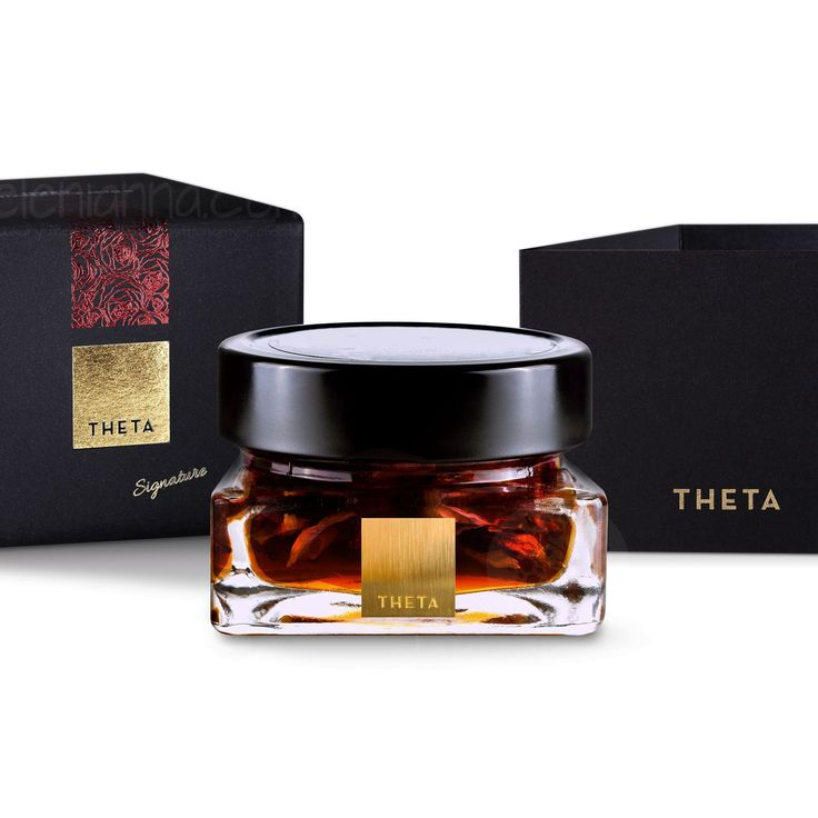 Show details for THETA Honey with Edible Rose  Petals 130g