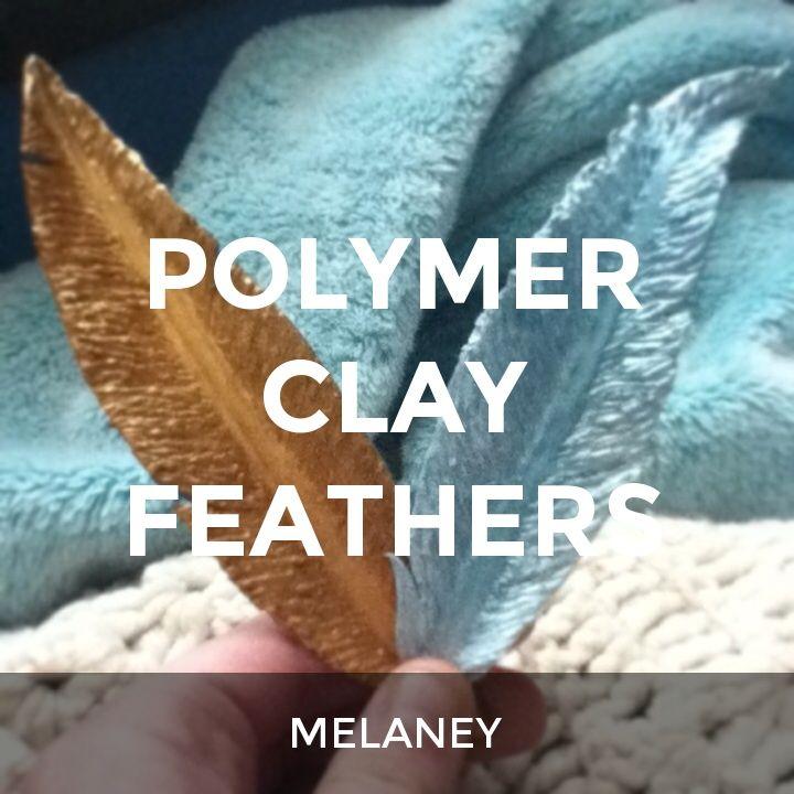 POLYMER CLAY FEATHERS: a How.Do DIY original