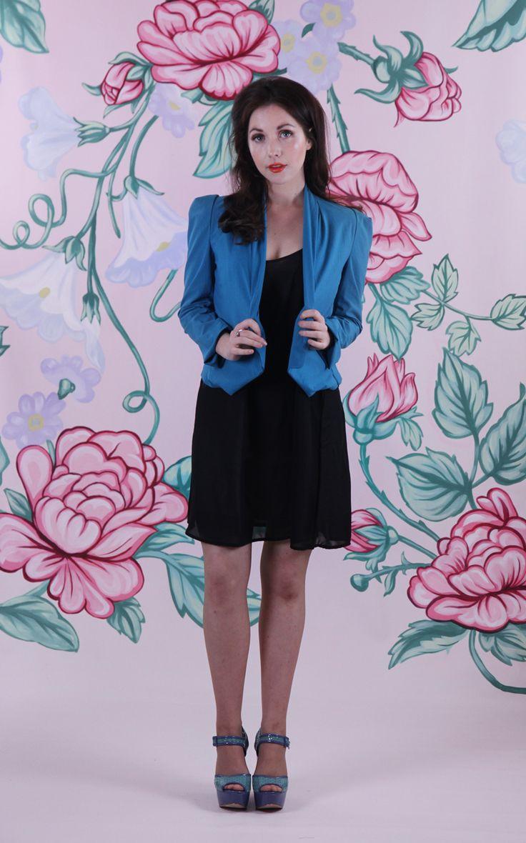 Harriett Falvey - Aroma Jacket - Teal