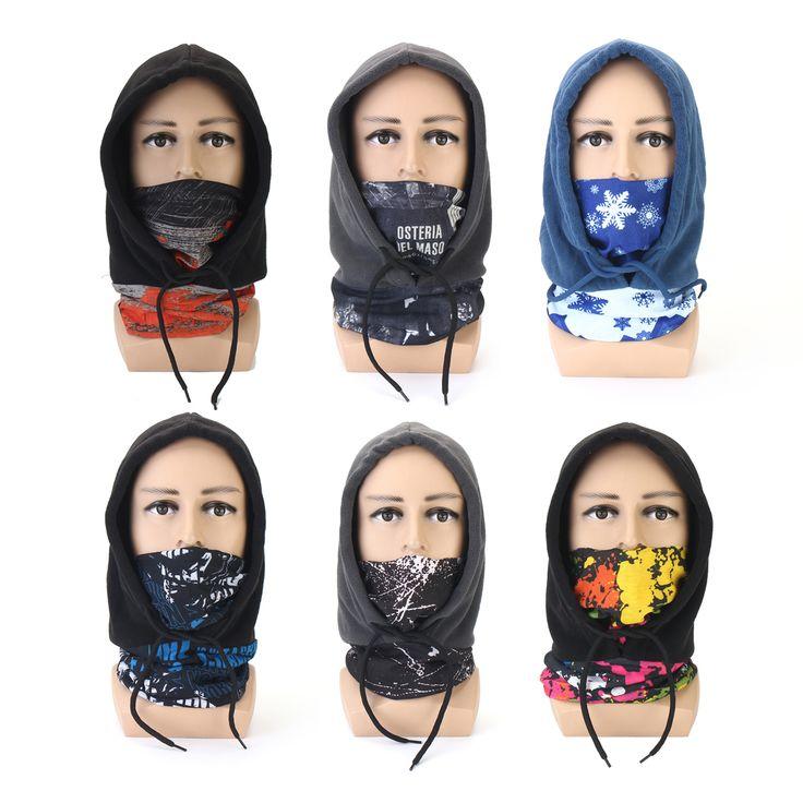 Balaclava Full Face Warm Mascara Gorra Sun-protection Moto Winter Windproof Sombrero Gorra 6colors