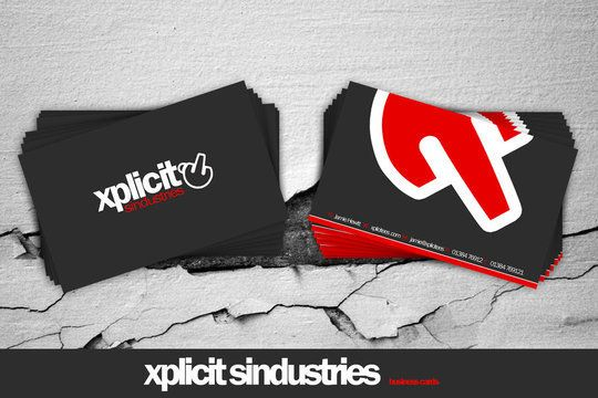 Business Card Design: 7UR - .:xplicit business cards:. | Desain kartu nama unik dan inspiratif