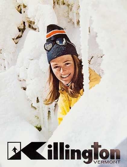 vintage ski poster - Killington 1970's