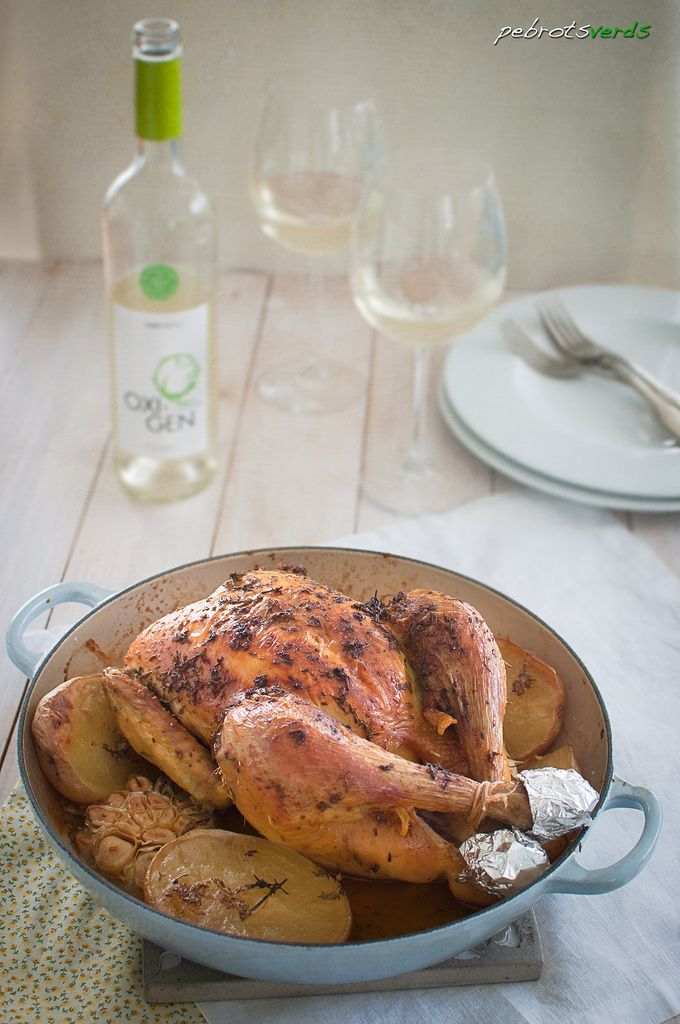 Pollastre aromàtic/Aromatic roasted chicken