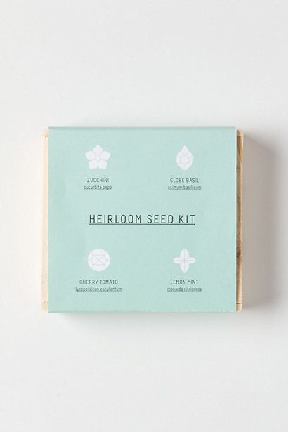 Heirloom Seed Kit ++ sarah rainwater