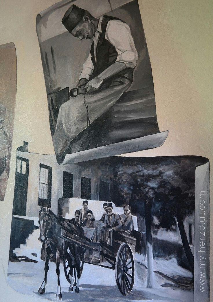 Historisches Kapstadt - Wandmalereien gesehen auf einer der Free Walking Tours. Meine Empfehlung und Tipps dazu auf dem Blog...
