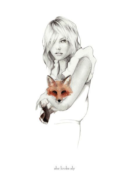 Of any artworks I would love to have....it would be a Birdy & Me fashion illustrations ~ by Kelly Smith