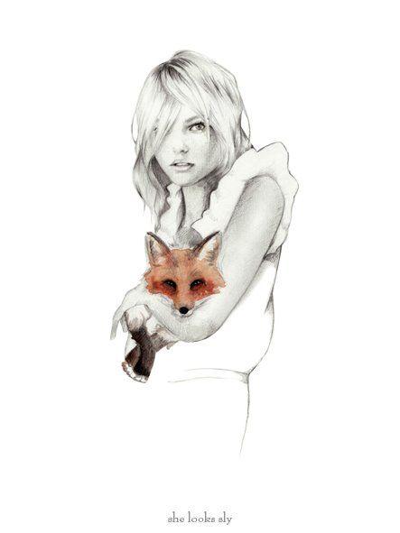 my pet fox.