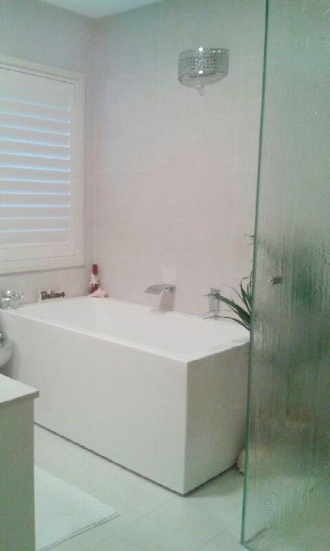 bathroom renovations sydney, freestanding bath, modern bathroom, frameless shower screen, bathroom remodel