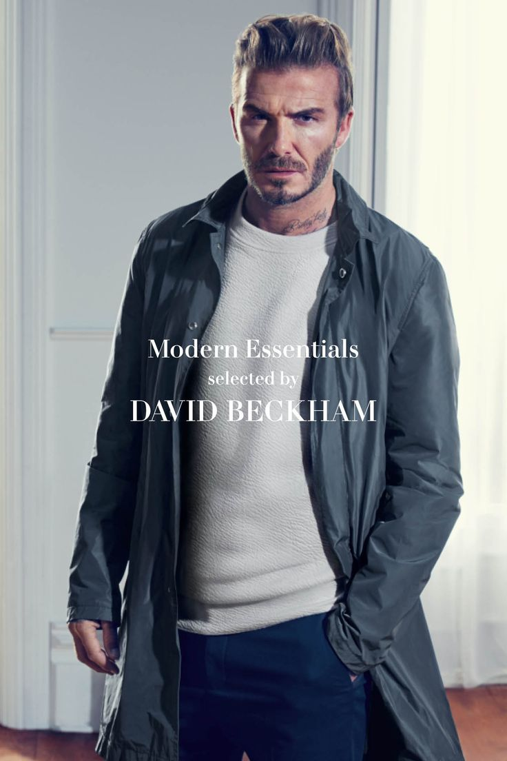 """I'm really excited by these new pieces I've selected from the Modern Essentials range. It's exactly what I like about menswear, a mix of tailored and casual that always looks stylish."" -David Beckham. Click to see the full collection at H&M."