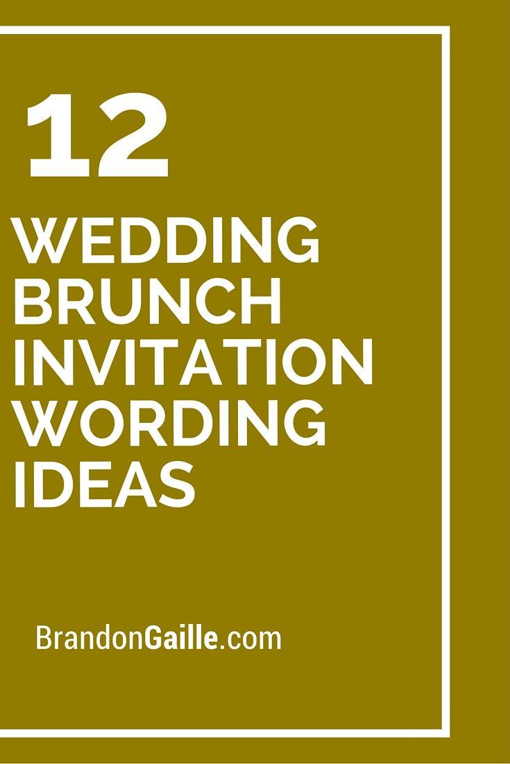 wedding brunch invitation wording ideas brunch invitations invitation