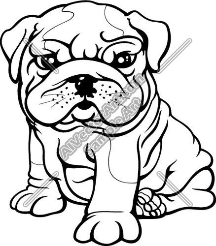 Concept Design Home: Cute Bulldog Clipart Pictures