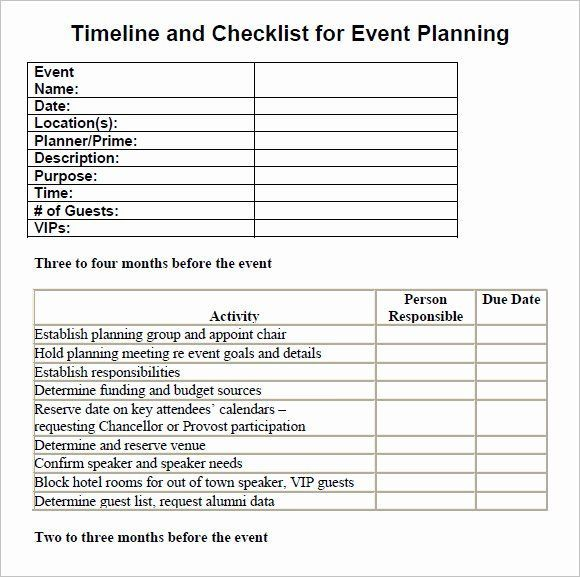 Corporate Event Planning Checklist Template Unique Event Planning Checklist In 2021 Event Planning Timeline Event Planning Checklist Templates Event Planning Checklist