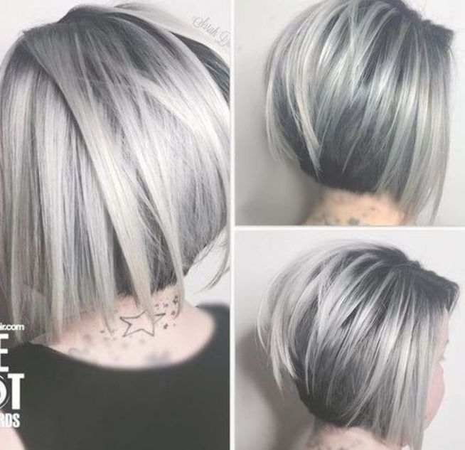 Pin By Rubina Horley On Hair Inspiration Color Hair Styles Short Hair Styles Silver Hair Color