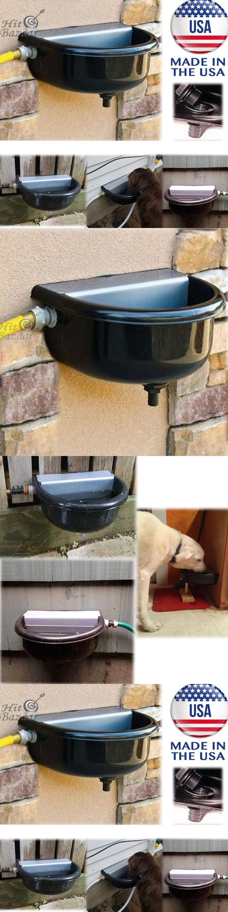 Dishes Feeders and Fountains 177789: Automatic Pet Waterer Fountain Water Dispenser Dog Horse Drink Outdoor Animal -> BUY IT NOW ONLY: $55.33 on eBay!