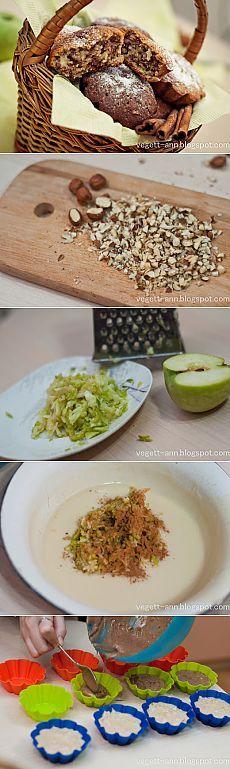 Рецепты вегетарианские. Пошаговые рецепты с фото.: Домашние кексы или маффины хоум-мейд