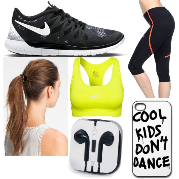 Running by matisse-davies on Polyvore featuring Asics, NIKE and L. Erickson