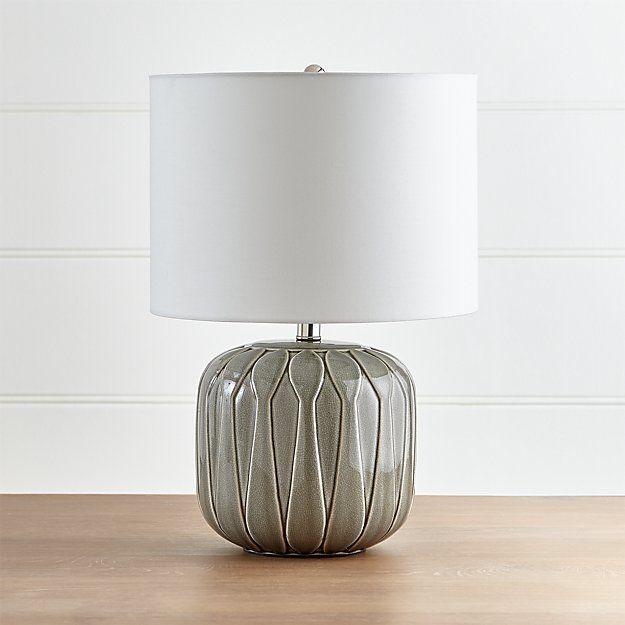 Jensen Grey Ceramic Table Lamp Table Lamp Lamp Ceramic Table Lamps