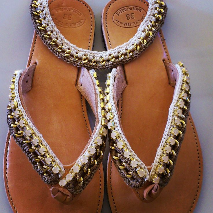 """""""Folegandros"""" Handmade Sandals"""