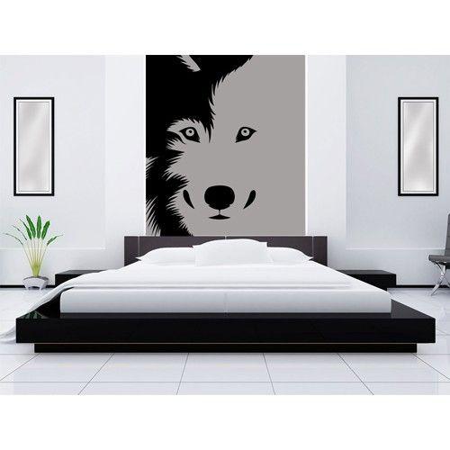 M s de 1000 ideas sobre dibujos de lobos en pinterest for Vinilos decorativos dormitorios juveniles