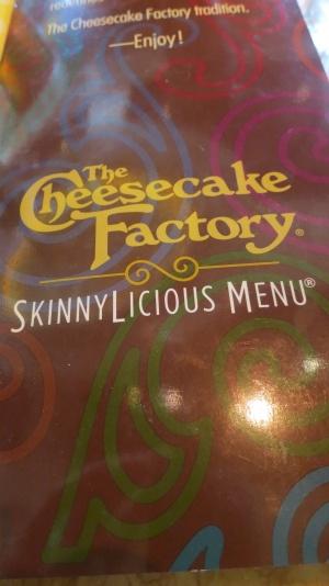 Cheesecake Factory Skinnylicious Review