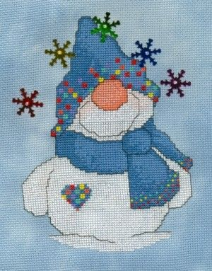 LIAM'S RAINBOW (SNOWBALLZ 2) - Counted Cross Stitch Pattern $6.45