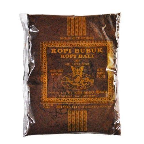 $16.00 Bali Coffee Powder Fine Ground 100 gr #KupuKupuBolaDunia #coffee #food #beverages #drinks #kafe #powder #cocoa #fineground