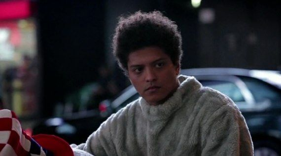 Bruno Mars as a sad mouse on SNL. I luv him.