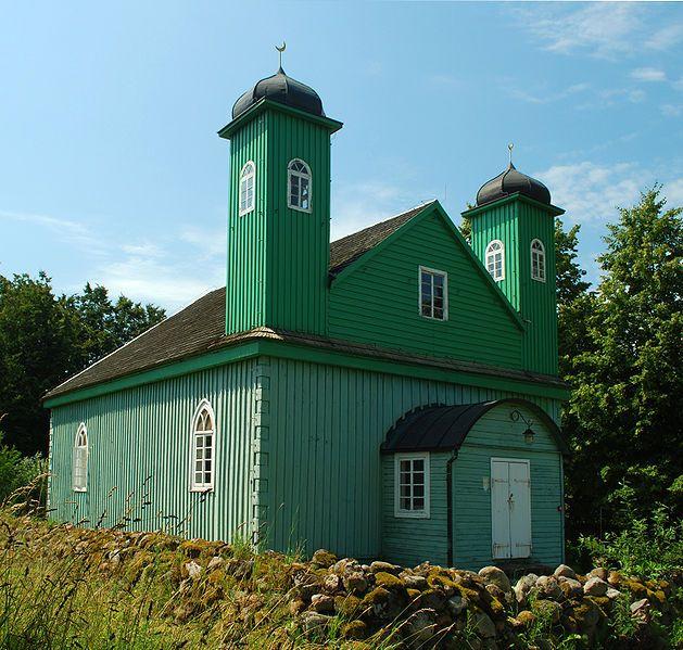Muslim Mosque in Kruszyniany,Podlasie.