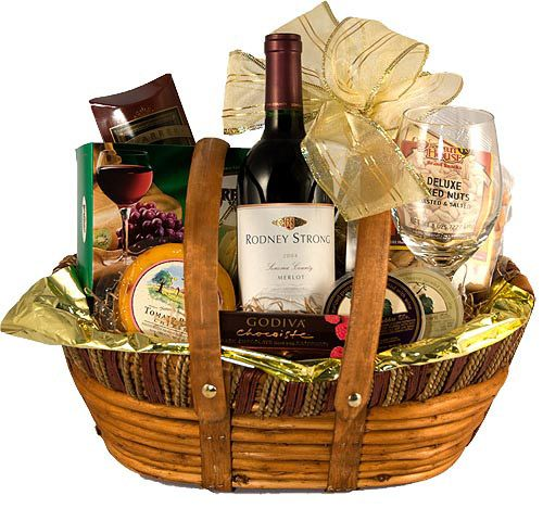 Image detail for -Wine and Cheese Gift Basket, Cheese and Wine Gift Baskets