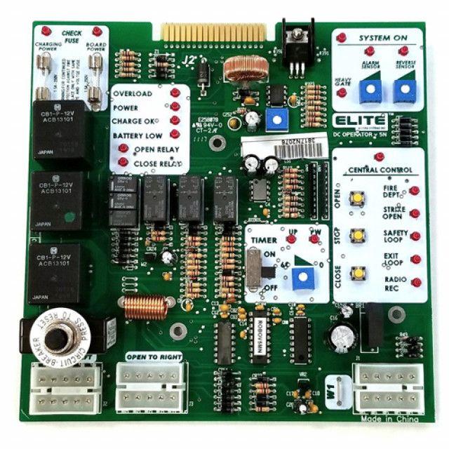 Liftmaster Elite Q206 Robo Slide Swing Control Board K 001a5867 Liftmaster Control Gate Operators