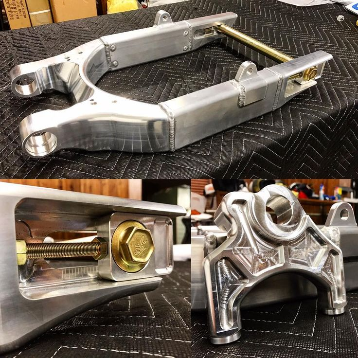 I've got three sets of these Roaring Toyz aluminum swing arms available for sale. Price is $1,395 plus tax and shipping. I can powder coat them gloss black for an extra $150. This is for 2008 and up Harley Davidson Dyna with 25mm axel. Also included is the radial mount so you can upgrade your bike to a higher end performance caliper. Normally the caliper mount is extra but I'll be including it free of charge! These are one of the most beautiful and well built swing arms available in the…