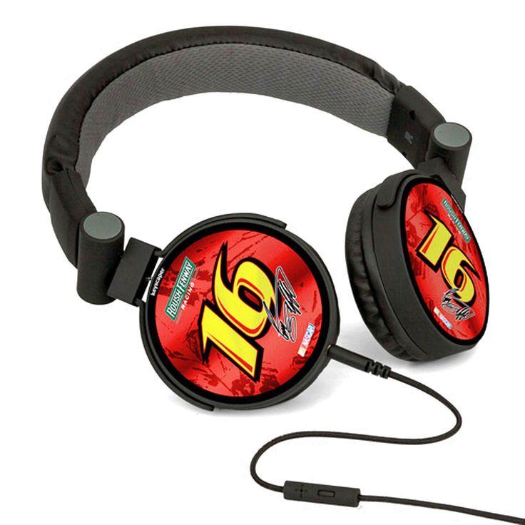 Greg Biffle DJ Logo Headphones - Red - $35.99