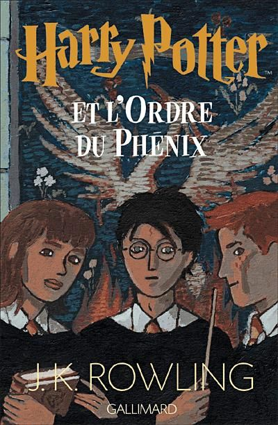 Harry Potter - Tome 5: Harry Potter et l'Ordre du Phénix de J.K. Rowling - j'adoré ce tome la fin est juste trop triste +++++