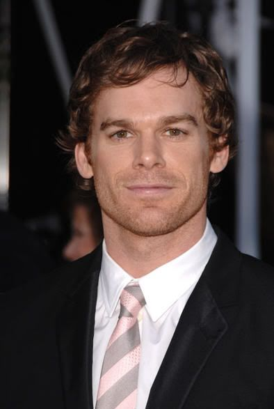Michael C. Hall :)  First loved him as David Fisher in Six Feet Under.....now he's my favorite serial killer, Dexter Morgan!!!!!!