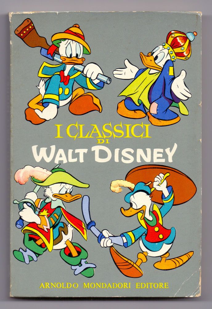 CWD 1^ serie - I CLASSICI DI WALT DISNEY - 1957 - Bellissimo!!!!