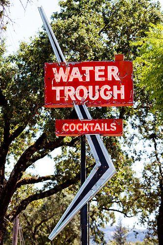 Water Trough...Ukiah, California