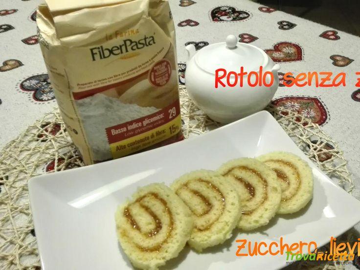 Rotolo senza zucchero a basso Indice Glicemico #ricette #food #recipes