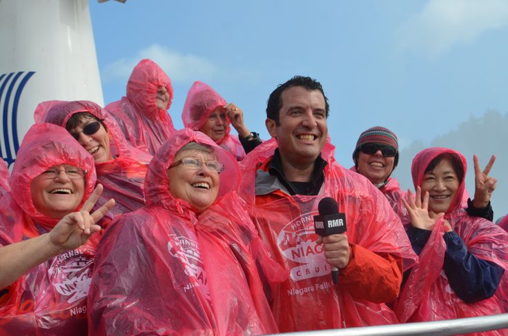 Don't miss an exclusive episode of the Rick Mercer Report filmed here at Hornblower Niagara Cruises! Tune in to CBC, November 18th at 8pm! #CBC #Hornblower #BehindTheScenes #Comedy #InTheMist #NiagaraCruises