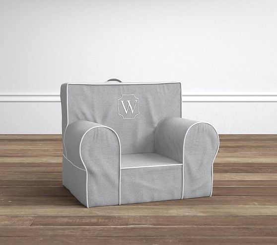 Gray Harper My First Anywhere Chair | Pottery Barn Kids