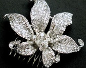 Crystal Lilly hair slide