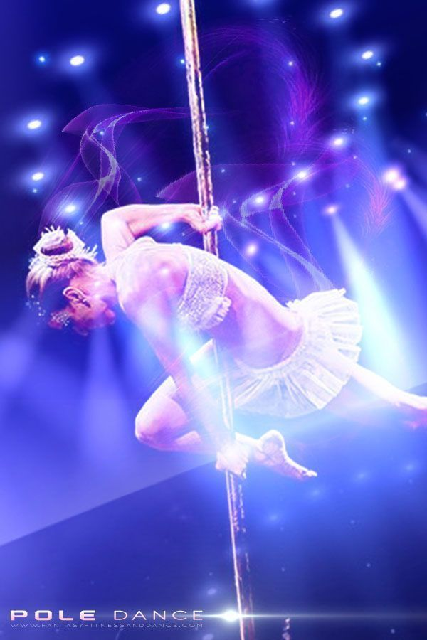 Learn Pole Dance at Fantasy Fitness and Dance Studio #poledancingfitness